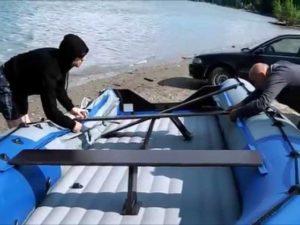Что выбрать для рыбалки: лодку с надувным дном или жестким